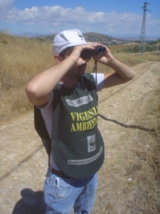 Sicilia, una guardia volontaria WWF